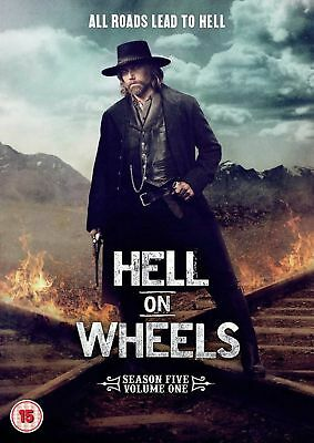 HELL ON WHEELS - Series 5 Vol 1 All Episodes 5th Fifth Season New Region 2 DVD
