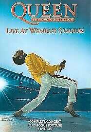 Queen - The Collection Live At Wembley Stadium 2 Disc Set Brand New Region 2 DVD