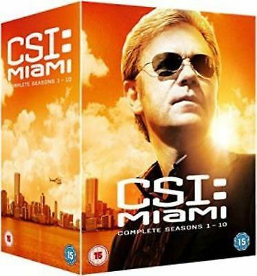 CSI Miami Series 1-10 Crime Scene Investigation Complete CBS TV Crime New UK DVD