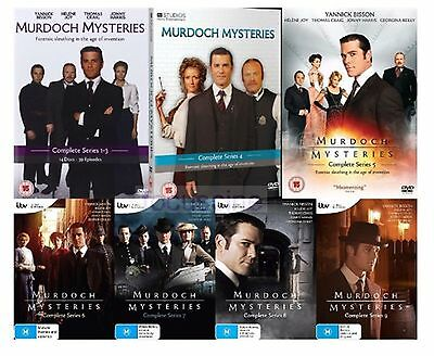Murdoch Mysteries - Series 1-9 Complete Collection 1 2 3 4 5 6 7 8 9 New UK DVD