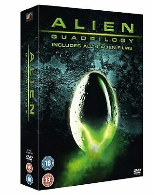 Aliens Quadrilogy The Complete Collection 5Discs box Set Brand New Sealed UK DVD