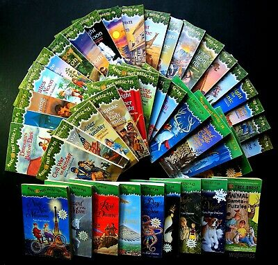 41 Lot  MAGIC TREE HOUSE Books 1-28 Complete  +  MERLIN MISSIONS  +  Puzzle Book
