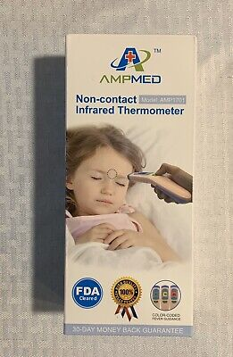 AMPMED Hospital Medical Grade Non Contact Infrared Forehead Thermometer NEW