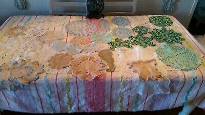 27 Vintage Doilies 1 Table Runner (007033) Refd2