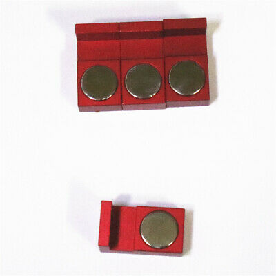 CNC,Kurt,Machinist Tools Vise CWZ Holders Red Magnetic Parallel Keepers