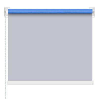 Blackout Window Blind Quality Roller Blinds 100x210cm 100% Polyester Grey /Beige