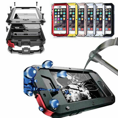 SHOCKPROOF HEAVY DUTY TOUGH ARMOUR CASE COVER FOR iPhone 11 Pro 6 7 8 Plus XR XS
