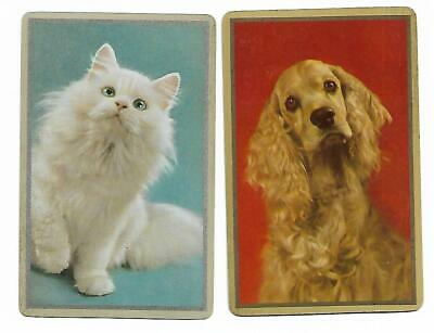 Dinnertime Missus ?? X 2 Only Single Vintage Playing/Swapcards