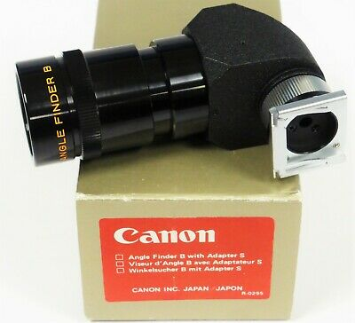 Canon FD Angle Finder B Mint Minus & Boxed