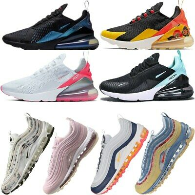 Womens Mens Air-Max 270 Running Shoes Casual Light Sport Trainer Sneakers UK3-10