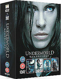 Underworld Quadrilogy 1 2 3 4 Complete Box Set Collection New Sealed Dvd