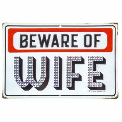 Beware of Wife  Vintage Style Metal Signs Man Cave Garage Decor 69