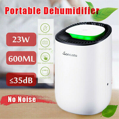 600ml Mini Air Dehumidifier Moisture Damp Dryer Portable Mould Remover Bedroom
