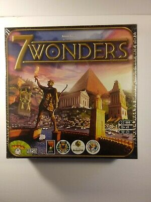 7 Wonders Board Game  GAME NEW and sealed.