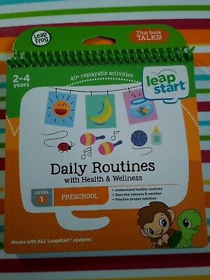 Leapfrog Leapstart Book Daily Routines & Wellness
