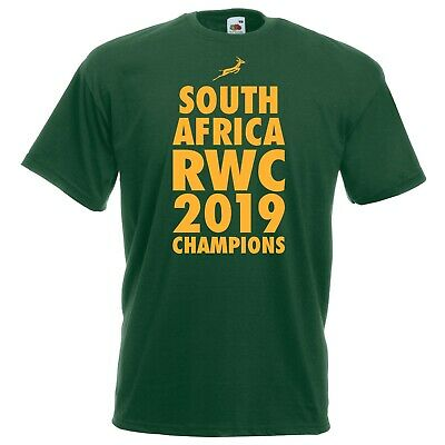 South Africa Champions T-shirt - Rugby World African Winners Cup 2019 Gift Top
