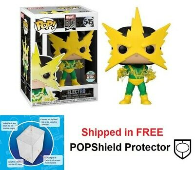 Funko POP Marvel 80th Anniversary First Appearance Electro #545 Specialty Series