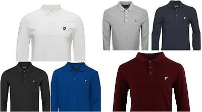 Lyle and Scott LONG SLEEVE Polo Shirt For Men Winter Huge SALE ""