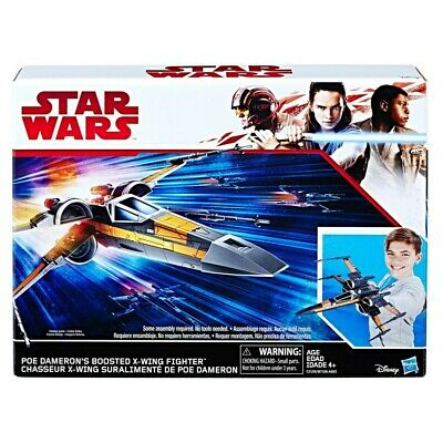 STAR WARS Poe Dameron's Boosted X-Wing Figther Fighter Hasbro C2159