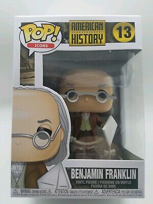 American History Benjamin Franklin #13 Funko Pop Vinyl Figure Brand New in Box