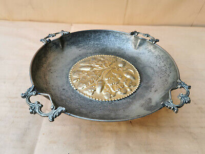 Old Vintage Fruit Tray Bowl Beautiful With Handles And Legs