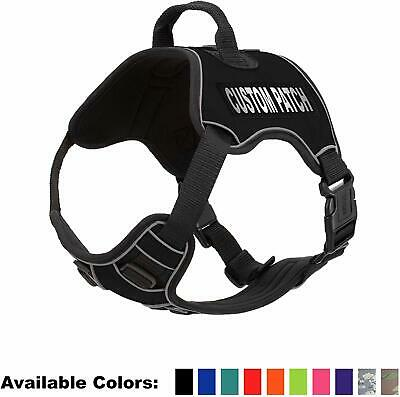 Quest Dog Harness with Emotional Support, ESA, Therapy Dog, and Custom Patches