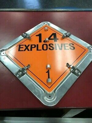 New Truck Safety 1 Case 15Ea Placard Gt1150