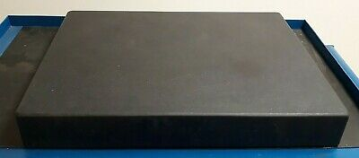 "Brown & Sharpe Black Granite Surface Plate 24x12x3"" Machinist Layout Part Making"