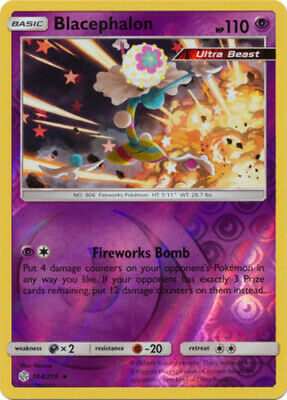 x1 Blacephalon - 104/236 - Reverse Holo Pokemon SM12 Cosmic Eclipse M/NM