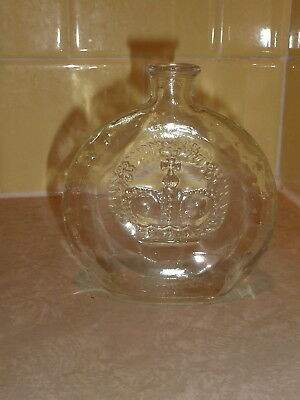 "Vintage Prince Matchabelli Cologne Perfume Bottle 4-1/2"" Empty No Stopper  N6"