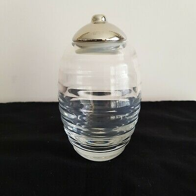 "Authentic - ""Alessi"" - Glass & S/Steel Sugar - Dispenser - By Theo Williams"