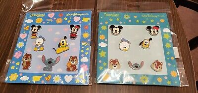 Disney Pins Booster Packs FAB Characters Full Body & Fab Faces  AUTHENTIC