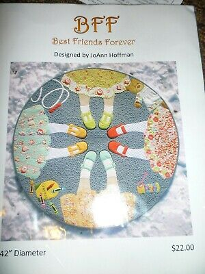 Best Friends Forever Quilt Kit 42 in Round Brand New