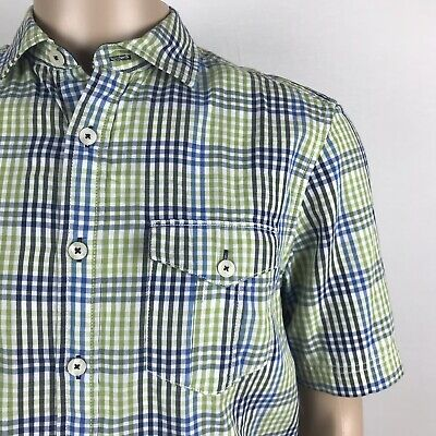 New w//Tags Tommy Bahama Men/'s Carnival Mixer Long Sleeve Cotton Button-Up Shirt