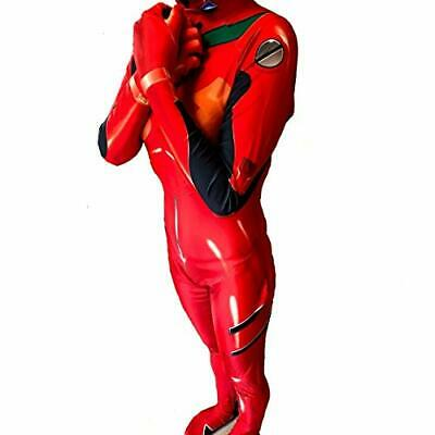 JAPAN Quality Evangelion 【L size 】ASUKA Plug suit body suit Cosplay Costumes