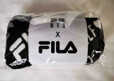 BTS FILA BLANKET SPEAK YOURSELF THE FINAL Seoul Official ARMY MD SYS Black 2019