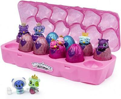 HATCHIMALS 6047215 CollEGGtibles, Jewellery Box Royal Dozen 12-pack Egg...