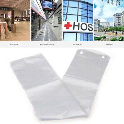 74E3 100pcs Disposable Umbrella Bag No Leak Hotel Convenient