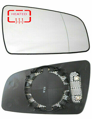 Right Driver Side Wide Angle Mirror Glass for Vauxhall Zafira B 2005-2009 22RAS