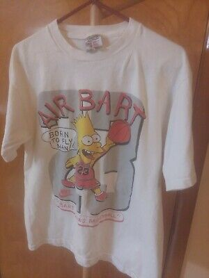 Rare Vintage 90s AIR BART(Simpson) JORDAN 23 CAN'T TOUCH THIS Bootleg Tshirt XL?