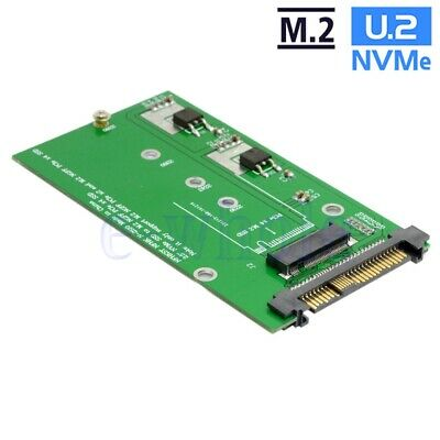 SFF-8639 NVME U.2 to NGFF M.2 M-key SSD Adapter For Intel SSD 750 P3600 P3700 GW