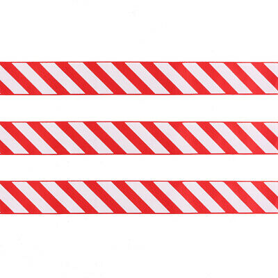 38mm Red and White cake Xmas Tree Gift Stripe Christmas Candy Cane Stripe Ribbon