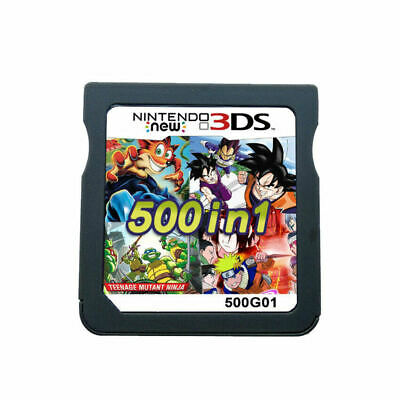 500 in 1 Video Game Card Cartridge Multicart For Nintendo NDS NDSL NDSi 2DS 3DS