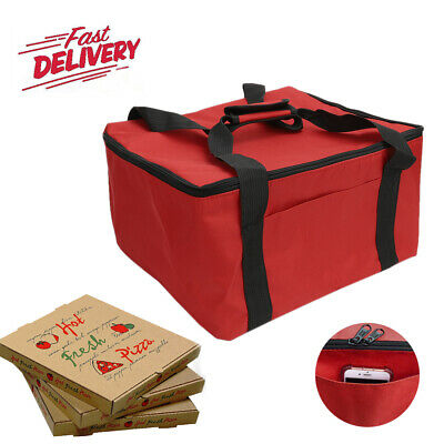 Hot Food Pizza Takeaway Restaurant Delivery Bag Thermal Insulated 36x32x22cm