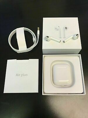 AirPods 2nd Bluetooth Airplus Earbuds - Wireless Earphones with Charging Box 1:1