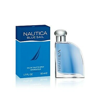 Nautica Blue Sail Cologne by Nautica, 1.7oz EDT Spray for Men New In Retail Box
