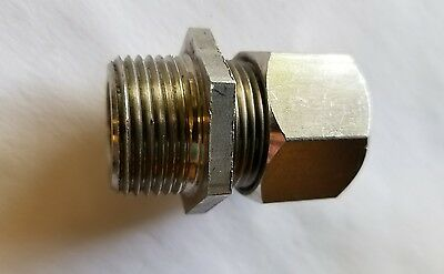 "Stainless Steel 3/4"" Cgb Cord Connectors. .500 - .625. Lot Of 10"