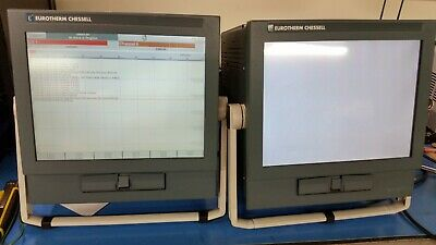 EUROTHERM CHESSELL RECORDER, 100-120V, 50/60 HZ. MODEL: 4100 lot of 2