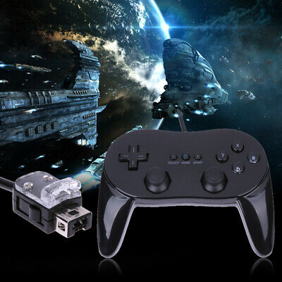 New Pro Wired Classic Game Controller Pad Console Joypad For Nintendo Wii Remote