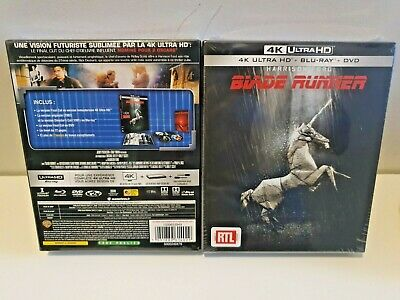 Blade Runner 4K UHD + Blu-Ray + DVD 4-Discs Special Limited Edition New & Sealed